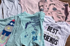 Selling with online payment: T's and tops bundle age 4-5