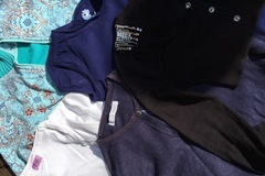 Selling with online payment: Cardigans and tops bundle, age 6-7 Yrs