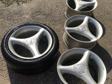 Selling: Antera 109 Tri-Spoke Wheels Rare 5x112 Mercedes BMW VW Audi