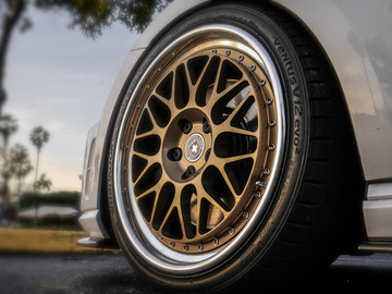Selling: 5x112 | 19x9.5 | HRE Classic Series 3 piece wheels