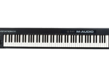 Renting out: M-Audio Keystation 88 MIDI Keyboard Controller