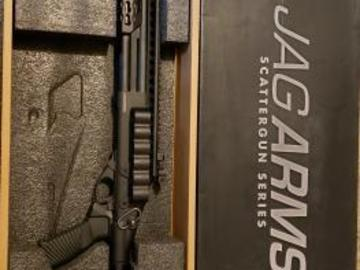Selling: JAG Arms Gas Scattergun Airsoft Shotgun