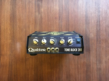 Renting out: Quilter Labs Tone Block 201 200-watt head