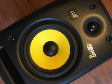 Renting out: KRK Rokit 6 G2 Powered Studio Monitors