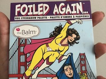 Venta: The balm. Foiled again. Un 12/10!!!