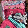 Selling with online payment: Disney /Hello Kitty T bundle, age 7-8 Yrs