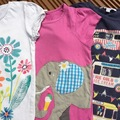 Selling with online payment:  mini Boden / Fat Face T's, age 4-5 Yrs