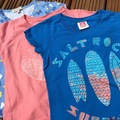 Selling with online payment: Saltrock and indigo T's, age 7-8  Yrs