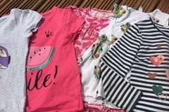 Selling with online payment: Girls tops, age 7-8 Yrs