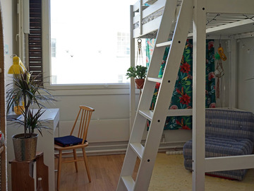 Annetaan vuokralle: Furnished room in 2-room apartment in Sornainen(July-August, Sep)