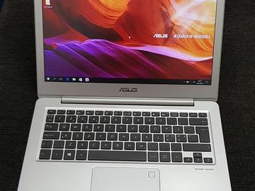 Myydään: Takuukorjattu näpsäkkä ASUS Zenbook UX330CA-PURE7 laptop läppäri