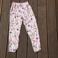 Selling with online payment: Flowery Summer trousers, age 7-8 Yrs