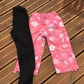 Selling with online payment: Jeans and flowery jean shorts M&S, age 7-8 Yrs