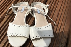 Selling with online payment: Sandals next, size 13