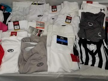 Buy Now: Baseball Pants, Shirts, Gloves, Belts