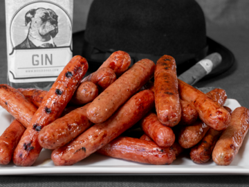 Online Listing: Prime GIN-ister Hot Dogs - 10 lbs.