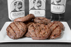 Online Listing: BOOZY Burger Assorted Pack - 15 lbs.