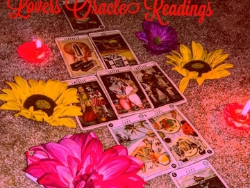 Services Offered: (FIRST 10 ARE %50 OFF)30 Minute $35 Lovers Oracle Readings