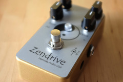 Renting out: Lovepedal Hermida Audio Gold Zendrive 2 Overdrive Pedal Rental
