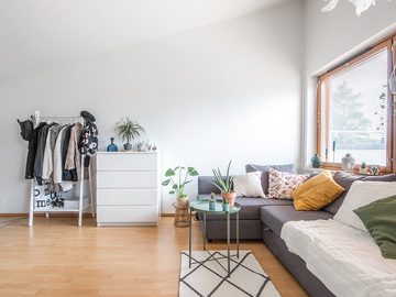 Annetaan vuokralle: Ylimmän kerroksen ihana asunto Otaniemestä, Apartment in Otaniemi