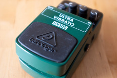 Renting out: Behringer UV300 Ultra Vibrato Pedal Rental