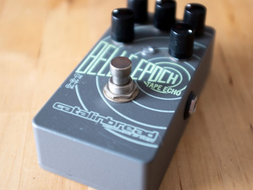 Renting out: Catalinbread Belle Epoch Tape Echo Delay Pedal Rental