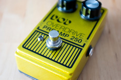 Renting out: DOD Overdrive Preamp 250 Pedal Rental