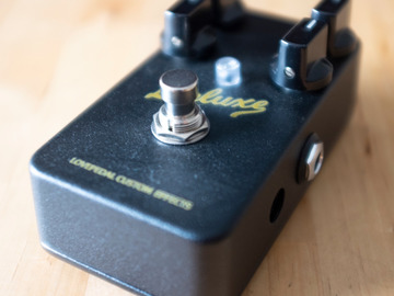 Renting out: Lovepedal Blackface Deluxe Overdrive Pedal Rental
