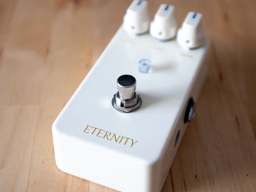 Renting out: Lovepedal Eternity White D Mod Overdrive Pedal Rental