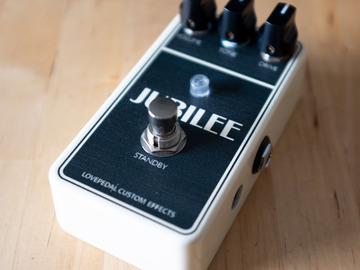 Renting out: Lovepedal Jubilee Overdrive Distortion MIAB Pedal Rental