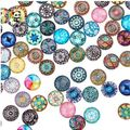 Buy Now: Assorted pattern cabochon jewelry DIY 400 pcs. 20mm