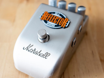 Renting out: Marshall RF1 Reflector Reverb Pedal Rental