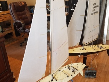 Selling: 2) RC Sailboats