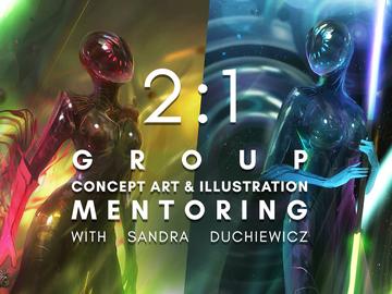 Group Session: Group Concept Art & Illustration Mentoring