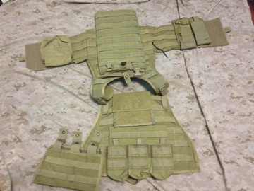 Selling: Flyye MBAV with pouches(Khaki)