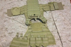 Selling: Flyye MBAV with pouches(Khaki)