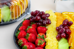 Request To Book & Pay In-Person (hourly/per party package pricing): Fresh Fruit Platters by Edible Arrangements
