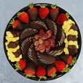Request To Book & Pay In-Person (hourly/per party package pricing): Chocolate Dipped Fruit Platters by Edible Arrangements