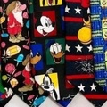 Buy Now: 100 Cartoon Tie Lot Novelty Neckties Sports Floral Disney