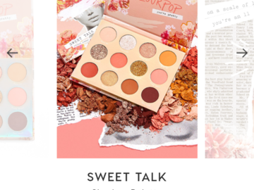 Buscando: Sweet Talk colourpop