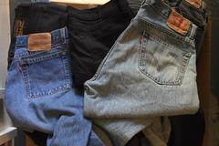 Buy Now: LEVI'S - JEANS - MEN & WOMEN - SALVAGED! 100 PAIRS!