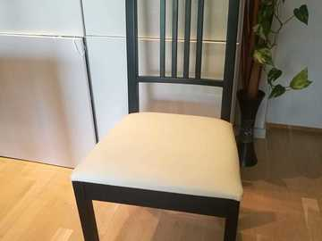 Myydään: Four dining chairs (price is for the whole set)