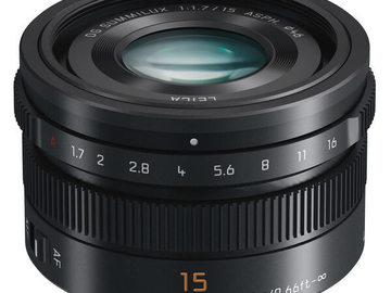 Vermieten: PANASONIC 15mm f/1.7