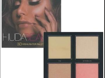 Venta: Huda Beauty 3D Highlighter Palette - Golden Sands