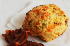 Online Listing: Bacon, Cheddar and Chive Scone (12 units)