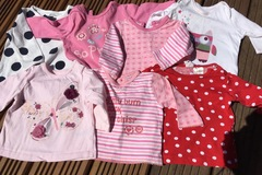 Selling with online payment: 7 long sleeve tops, age 3-6 months
