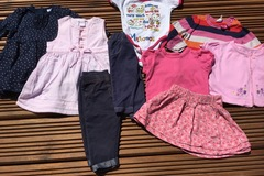 Selling with online payment: Girls bundle , age 3-6 months