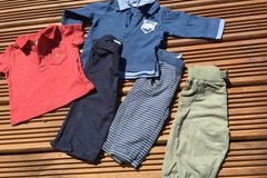 Selling with online payment: Benetton and Gap bundle, age 3-6 months