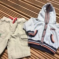 Selling with online payment: Trousers and hoody, age 0-3 months