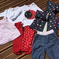 Selling with online payment: Girls baby bundle, age 0-3 months